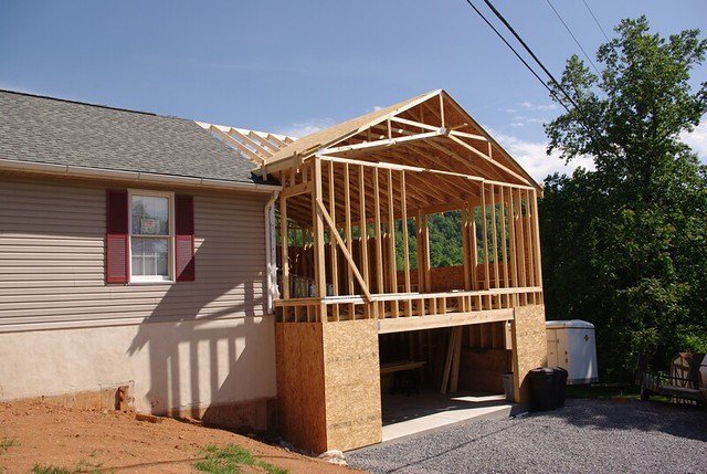 Best Smith Addition Roof Framing Robdurfee Flickr With Pictures