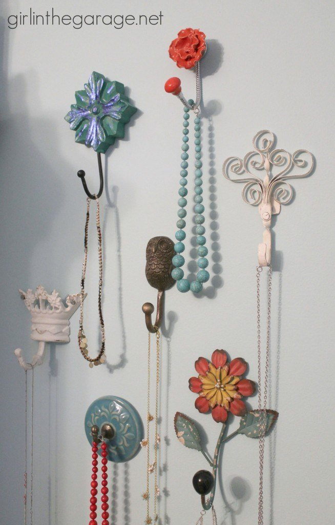 Best Decorative Wall Hooks As Jewelry Storage Girl In The Garage® With Pictures