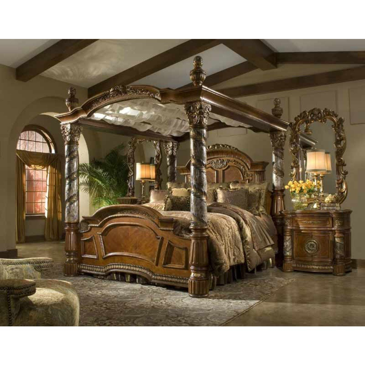 Best Aico Furniture Villa Valencia 5 Piece California King With Pictures