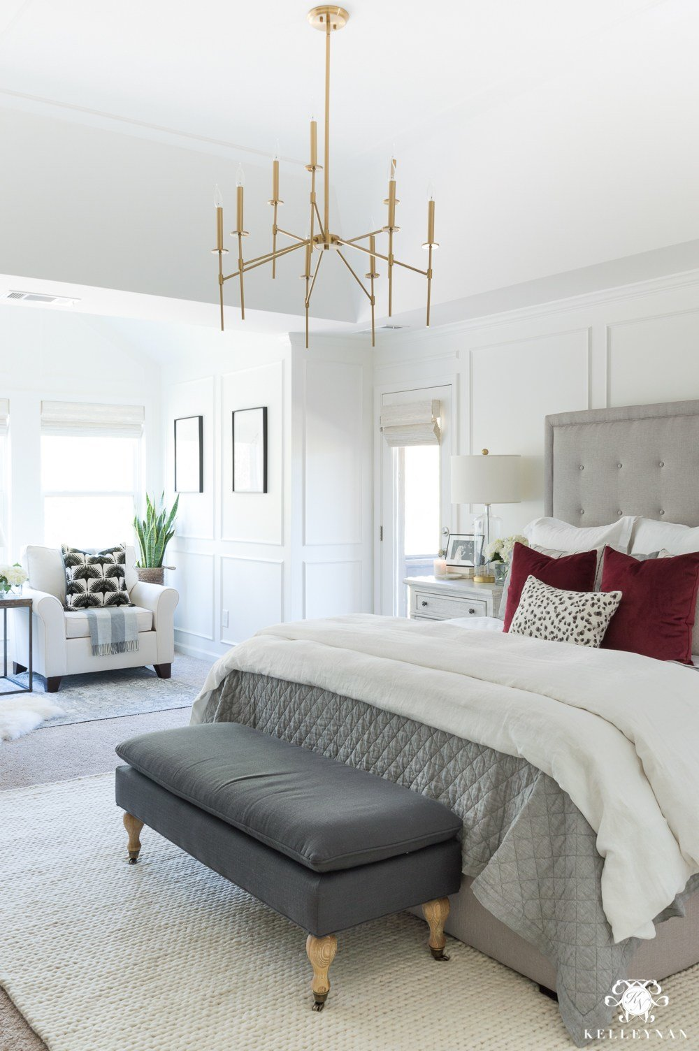 Best One Room Challenge Master Bedroom Makeover Reveal Kelley Nan With Pictures