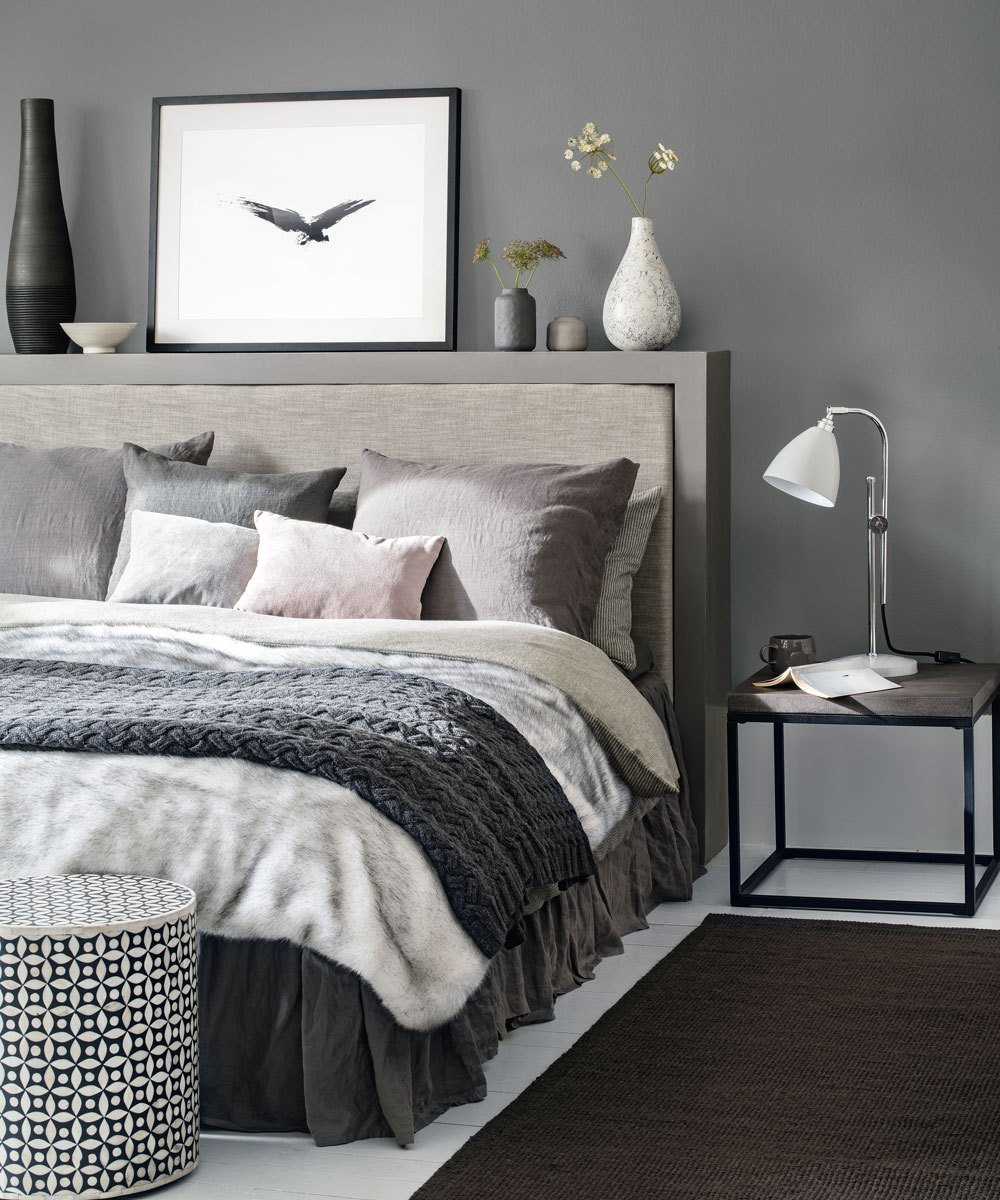 Best Grey Bedroom Ideas – Grey Bedroom Decorating – Grey Colour Scheme With Pictures
