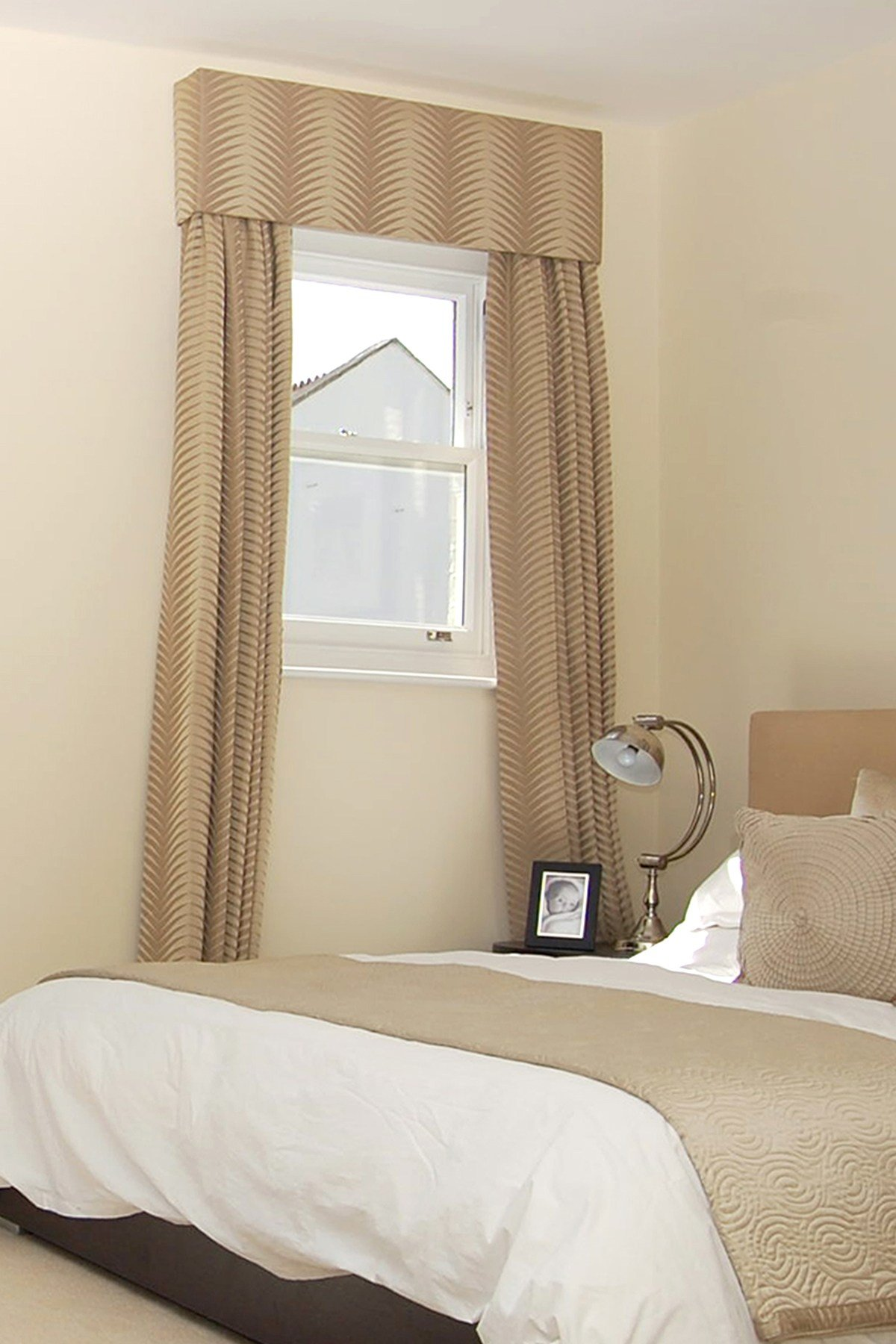 Best Decoration Curtains For Small Window In Bathroom With Contemporary Soft Color Bedroom Curtains With Pictures