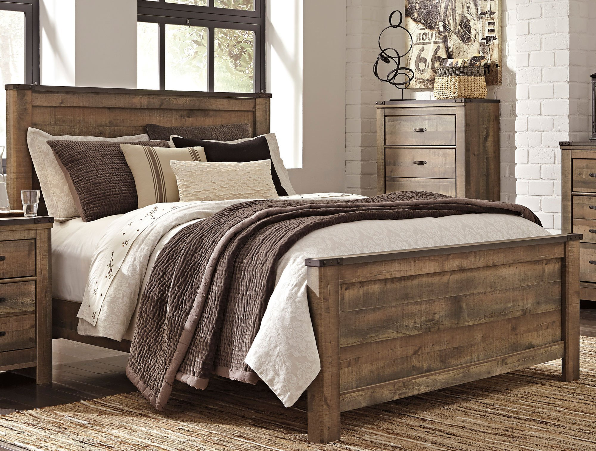 Best Rustic Casual Contemporary 6 Piece King Bedroom Set With Pictures
