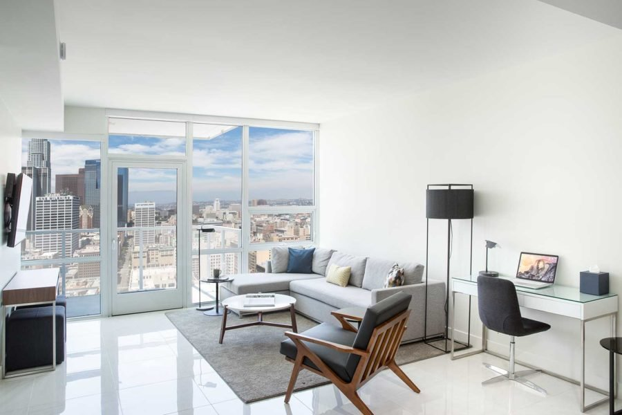 Best One Bedroom Apartments In Los Angeles Level Furnished Living With Pictures