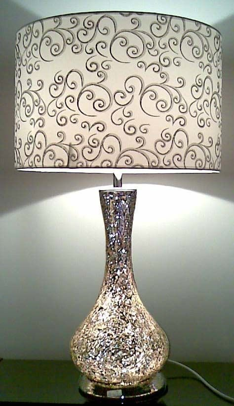 Best White And Glass Lamps For Bedroom Nightstands Classy With Pictures