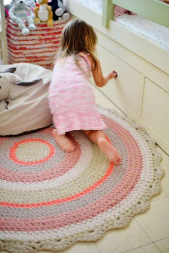 Best I Love That Rug For A Little Girls Room Knitting And Crocheting Pinterest Little Girl With Pictures