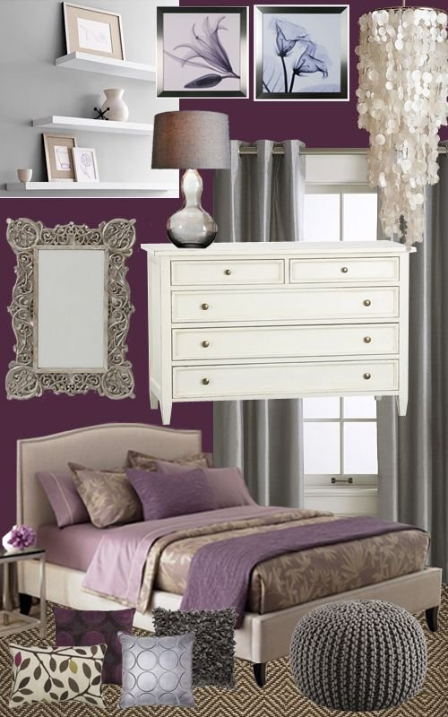 Best Plum Color Bedroom Ideas And Design On Pinterest With Pictures
