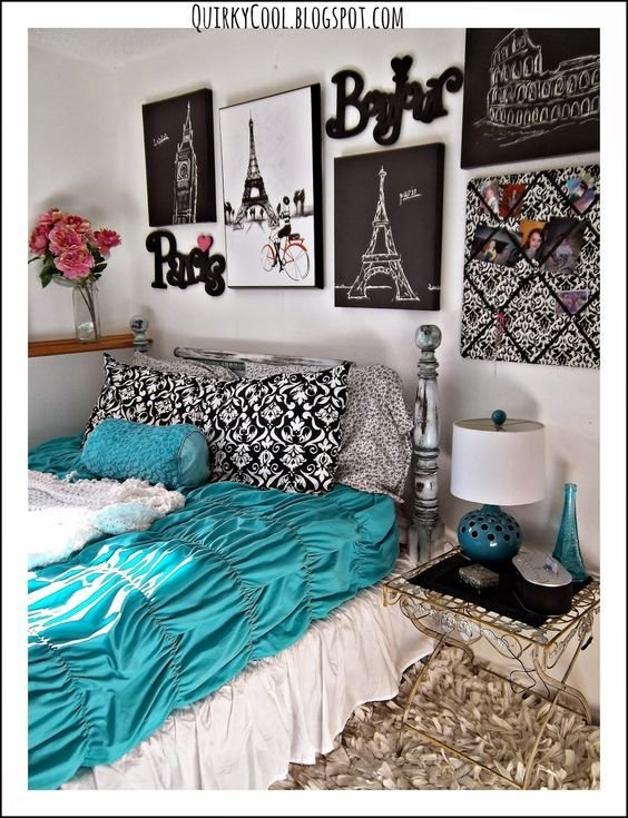 Best Quirky Cool A Parisian Chic Room That Diy Party With Pictures