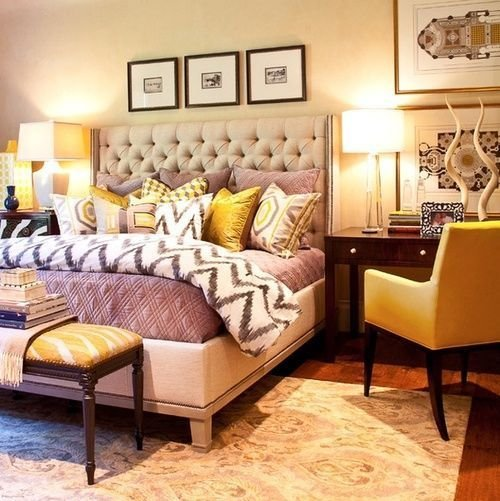 Best Gray Purple Yellow Bedroom Love These Colors Іде With Pictures
