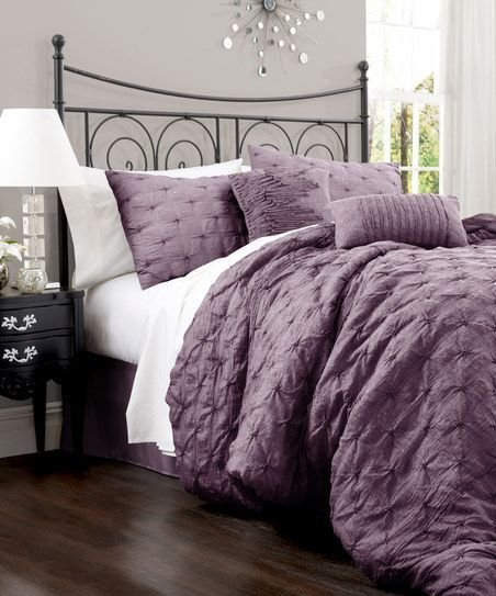 Best Lake Como Comforter And Purple On Pinterest With Pictures