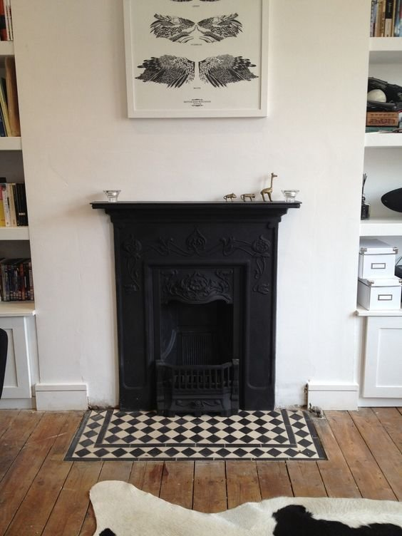 Best Victorian Cast Iron Fireplace Gives A Warm Touch To The With Pictures