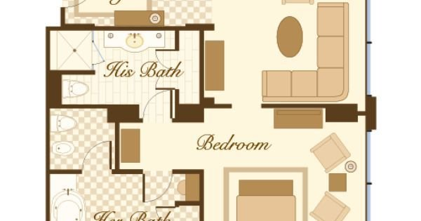 Best Las Vegas Suite Bellagio P*Nth**S* Suite Floorplan 2 With Pictures