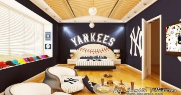 Best New York Yankees Bedroom Ideas Yankees Room Those With Pictures