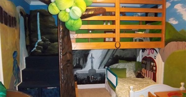 Best This Legend Of Zelda Themed Bedroom Is The Coolest Bedroom Legends Coolest Bedrooms And Zelda With Pictures