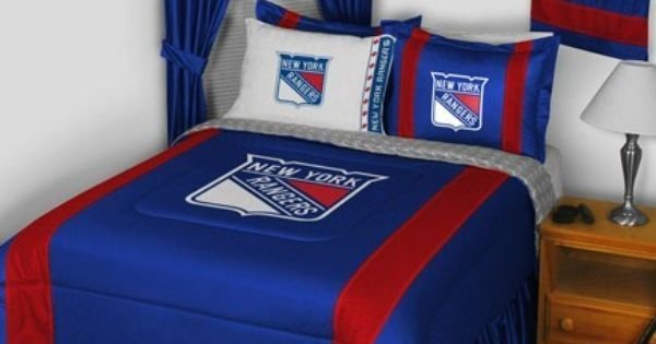 Best New York Rangers Bedroom Decor More Items Nhl With Pictures