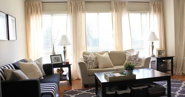 Best Curtains For 3 Windows Together Have Four Panels With Pictures