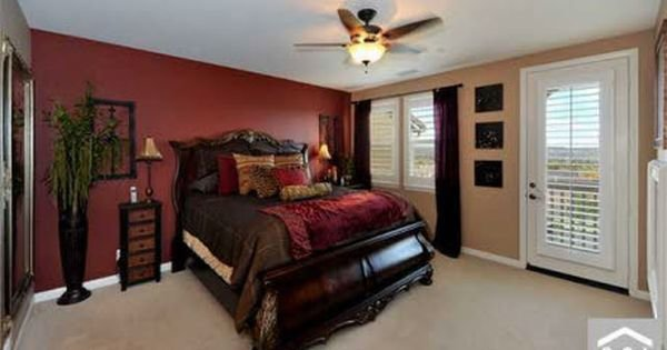 Best Red Accent Wall Bedroom Red Wall Master Bedroom Bedroom Designs Decorating Ideas Hgtv With Pictures