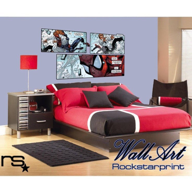 Best Large Comic Book Style Theme Wall Art Sticker Decal Ebay With Pictures