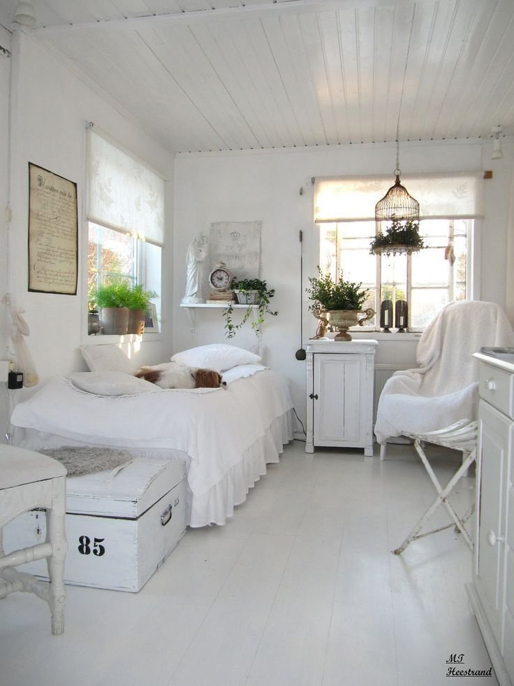 Best Guest Bedroom White Grey Black Chippy Shabby Chic With Pictures
