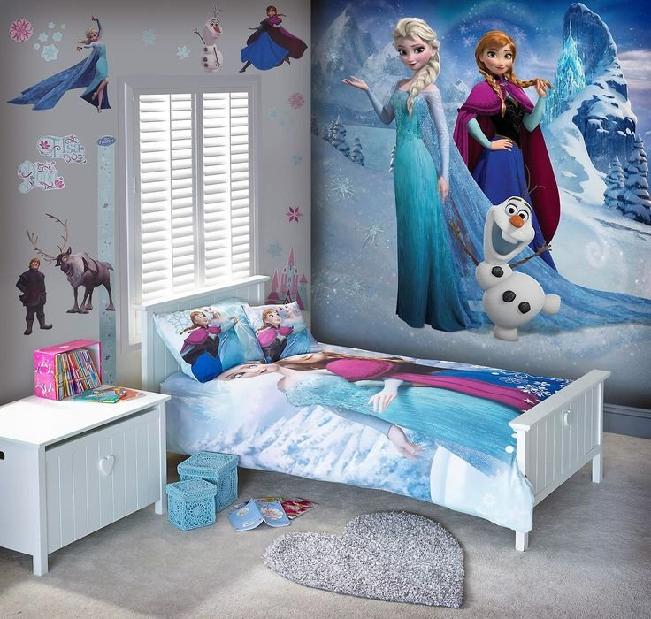 Best Disney™ Frozen Large Wall Mural From Next Kids Bedroom With Pictures