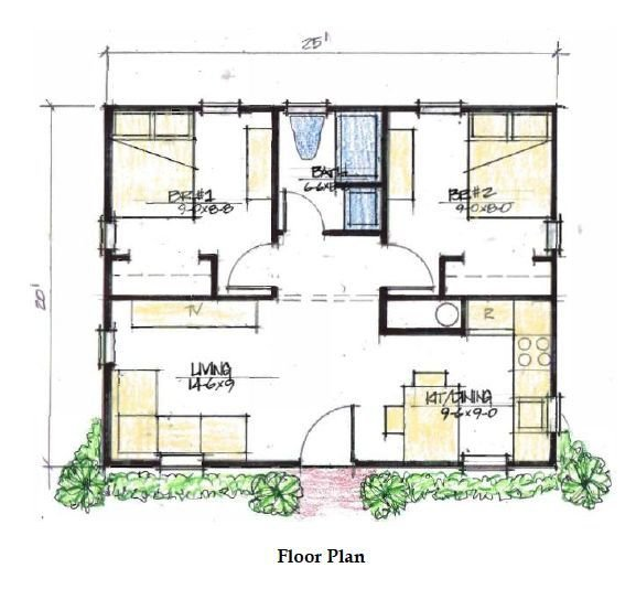 Best Two Bedroom 500 Sq Ft House Plans Google Search Cabin With Pictures
