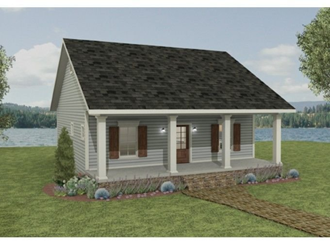 Best Country House Plan With 992 Square Feet And 2 Bedrooms With Pictures