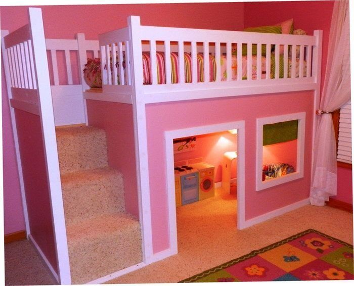 Best Cheap Beds Girls Bunk Beds And Beds For Girls On Pinterest With Pictures