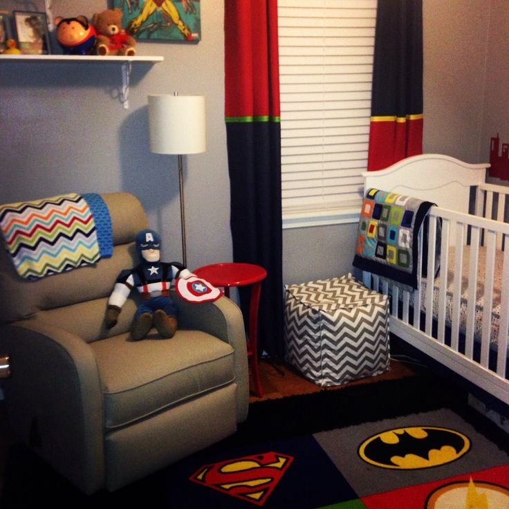 Best Superhero Nursery For Baby Boy Your Husband Will Be With Pictures