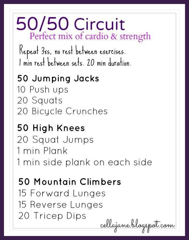 Best 99 Best Images About Circuit Training Workouts On Pinterest With Pictures