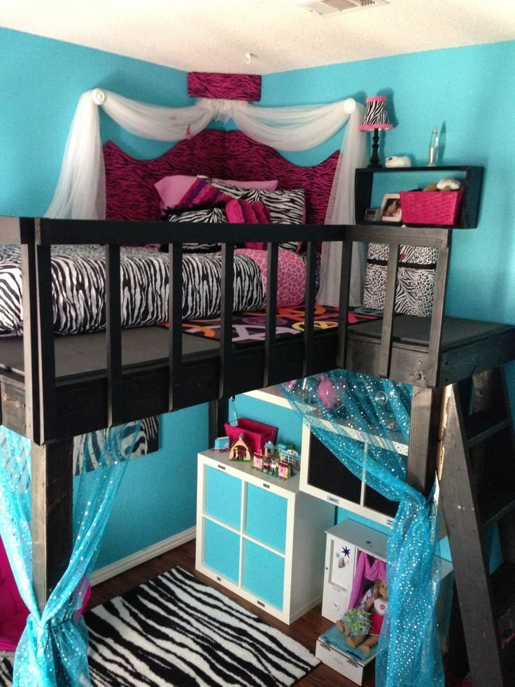 Best Diy Loft Bed Foam Core Corner Headboard And Ikea Storage With Pictures