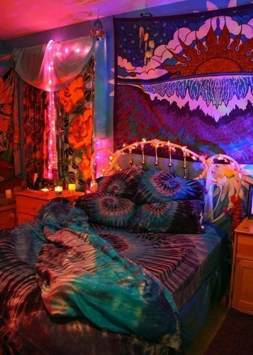 Best Psychedelic Bedroom Colores Pinterest Posts With Pictures