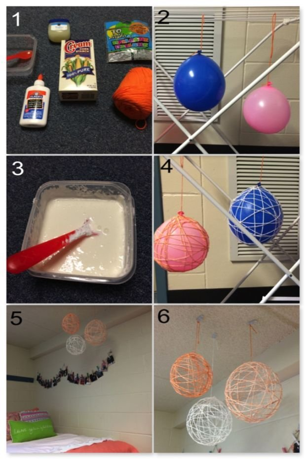 Best Dishes N Diys 3 Easy Cheap Dorm Room Crafts Dorm With Pictures