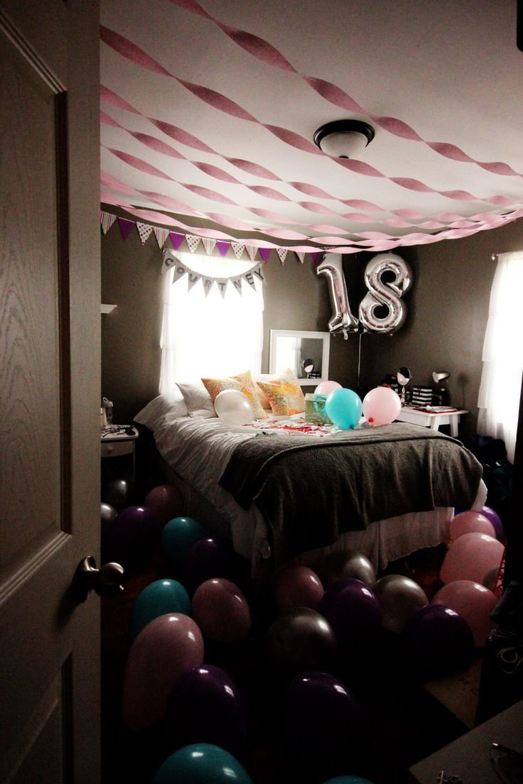Best 25 Best Ideas About Birthday Room Surprise On Pinterest With Pictures