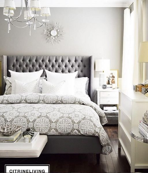 Best 25 Best Ideas About Grey Tufted Headboard On Pinterest With Pictures