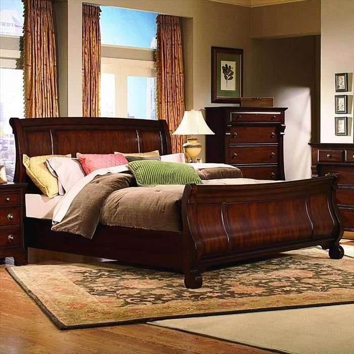 Best Kathy Ireland Home King Sleigh Bed Nebraska Furniture With Pictures