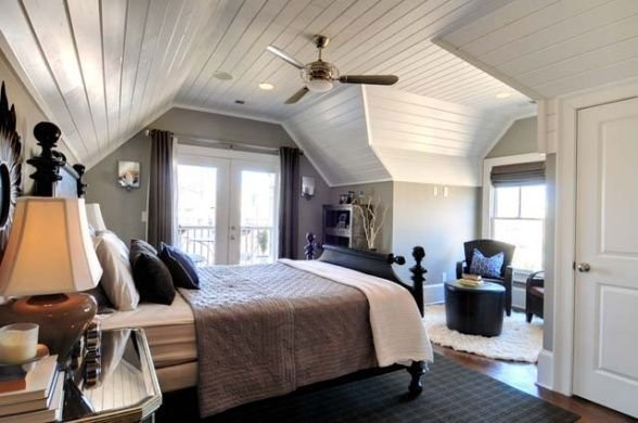 Best Cottage Master Suite With Open Bathroom Set Within The With Pictures