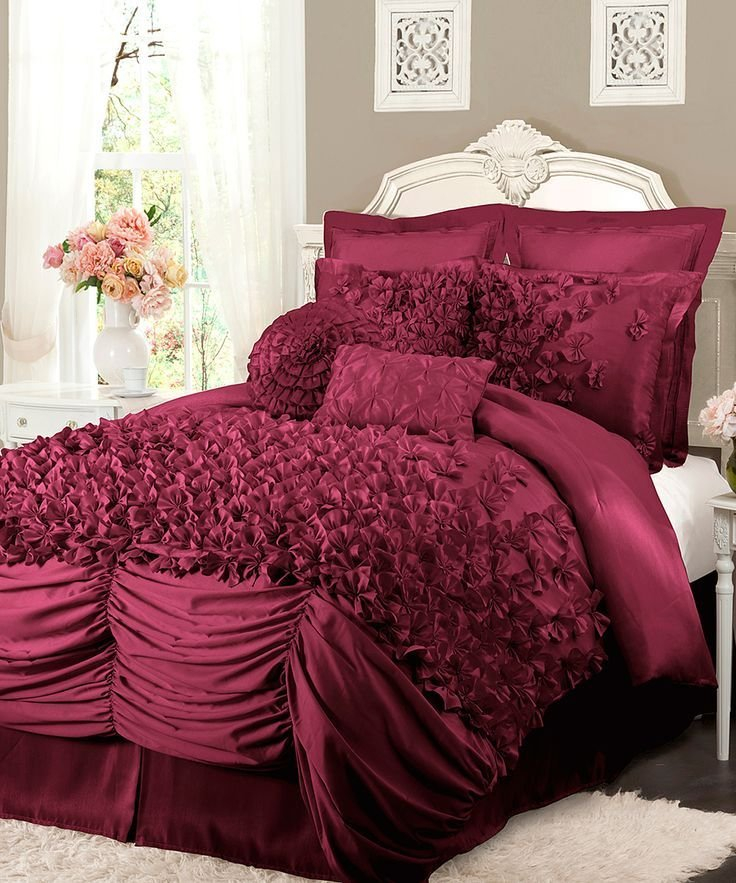 Best Raspberry Lucia Comforter Set Beautiful Color Eye With Pictures