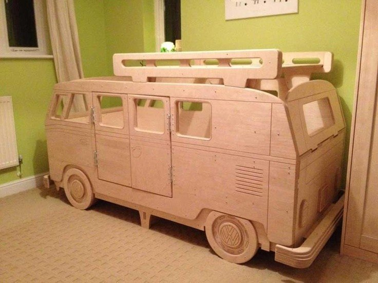 Best Wooden Vw Bus Bed Lastega Seotud Ideed Pinterest With Pictures