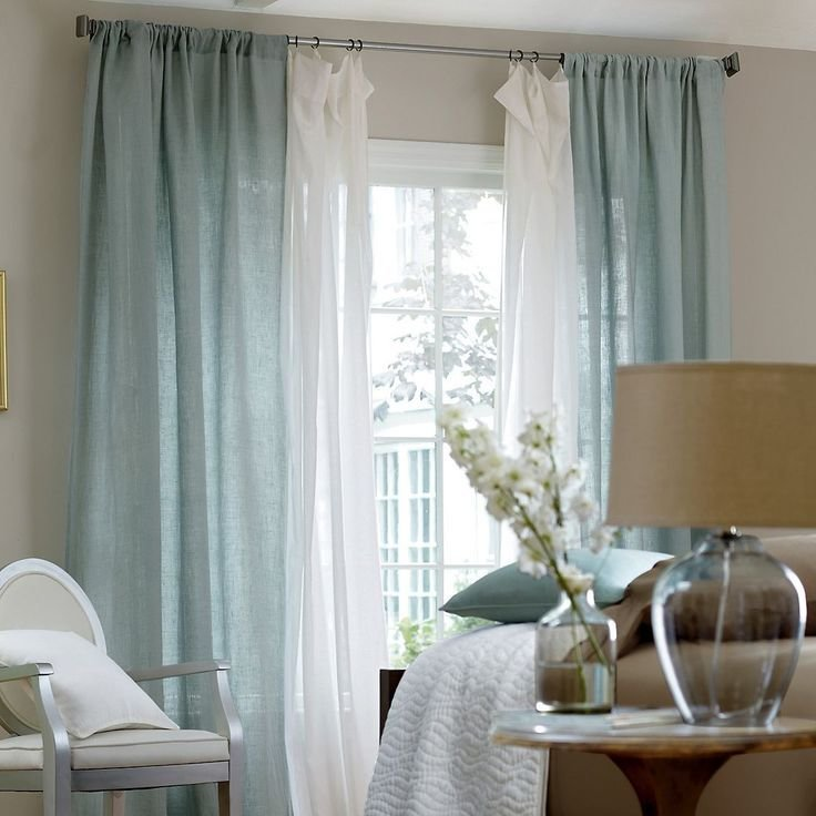 Best 25 Layered Curtains Ideas On Pinterest Window Curtains Window Treatments Living Room With Pictures