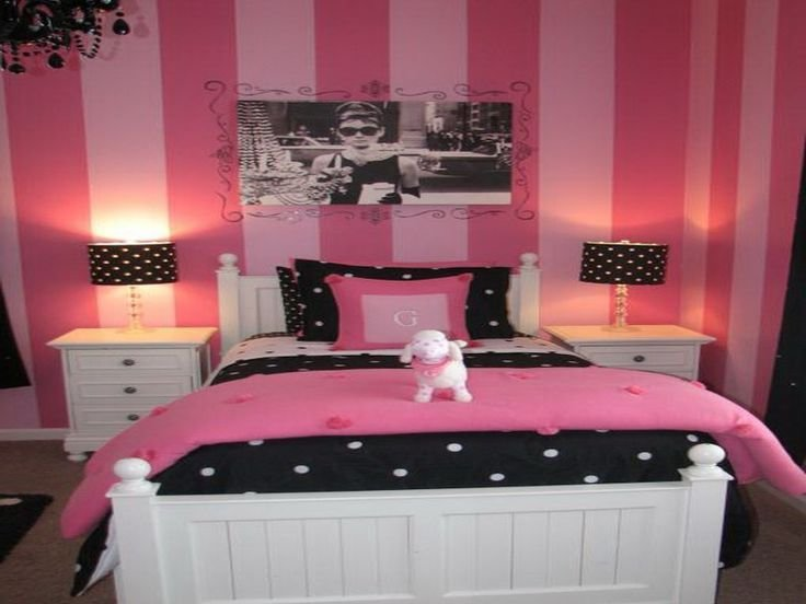 Best Cute Bedroom Design Pink And Black Room Decorating Ideas With Pictures