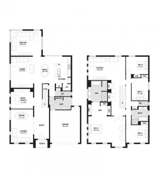 Best Residence 46 Double Storey Home Design 4 Bedroom 2 With Pictures