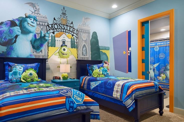 Best Monster Inc Bedroom For The Little Monsters Cool Kids With Pictures
