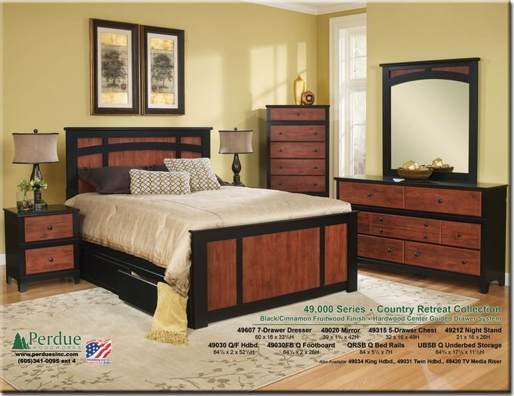 Best Perdue Woodworks 49000 Series Bedroom Sets Pinterest With Pictures