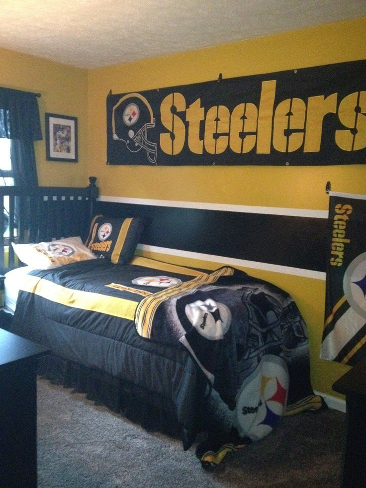 Best Steelers Bedroom Pittsburgh Steelers Fan Pinterest With Pictures