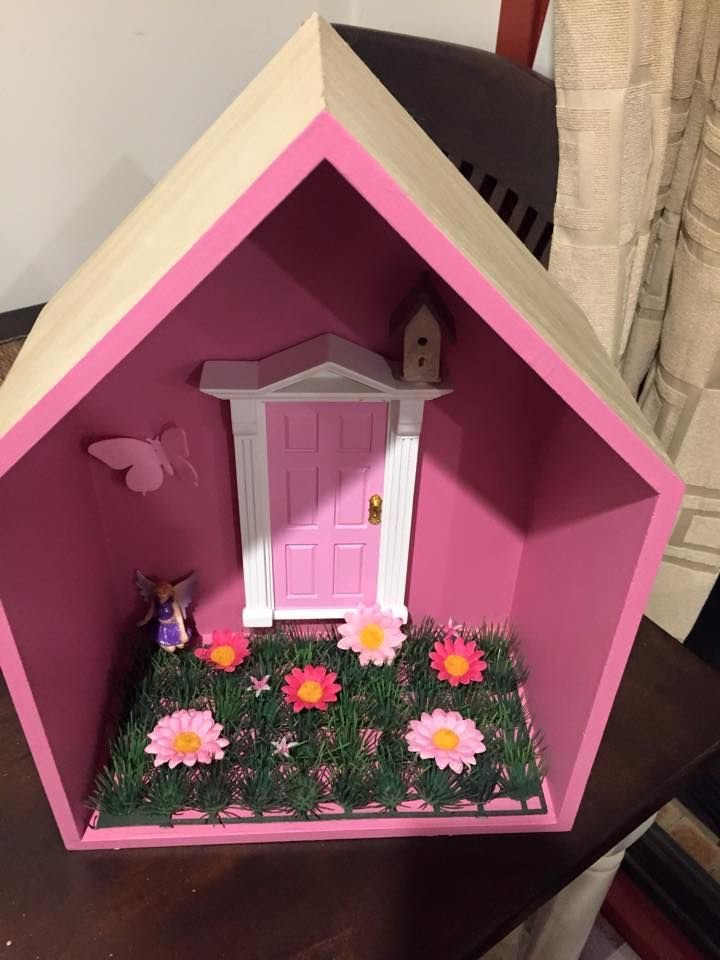 Best All Little Girls Need A Fairy Door Made Out Of Kmart With Pictures