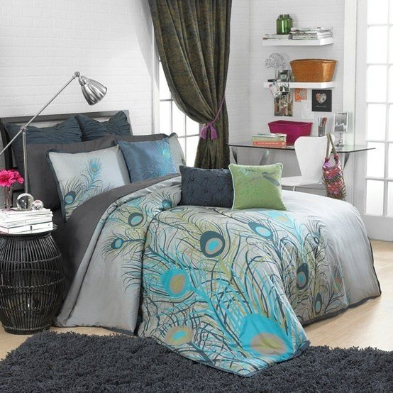 Best 17 Best Images About Peacock Color Theme Bedroom Ideas On With Pictures