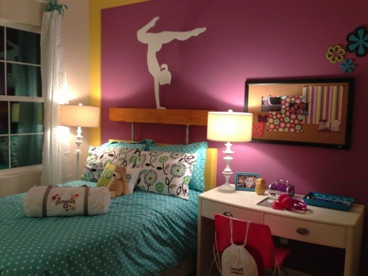 Best 13 Best Images About Gymnastics Themed Bedroom On With Pictures
