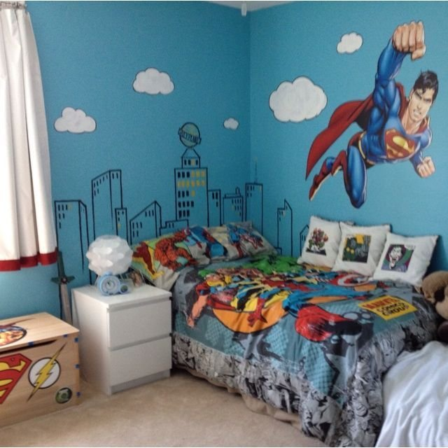 Best 17 Best Ideas About Superman Bedroom On Pinterest With Pictures