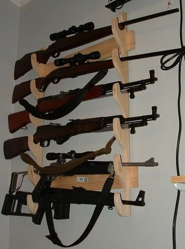 Best Locking Wall Gun Rack Plans Woodworking Projects Plans With Pictures