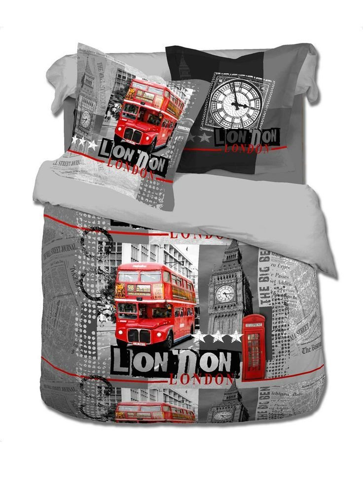 Best London Bedding Sets Παπλωματοθήκη Διπλή Γκρι Με With Pictures